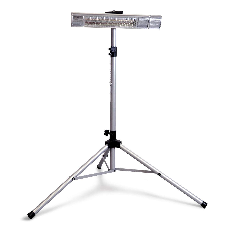 tripod spezial standfu f r heizstrahler infrarotstrahler implotex fir heater. Black Bedroom Furniture Sets. Home Design Ideas